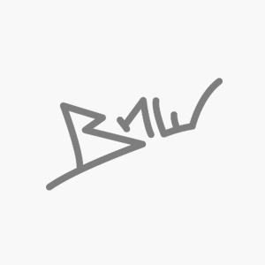 Reebok - PUMP OMNI LITE - Basketball Mid Top Sneaker - Noir / Rouge / Jaune